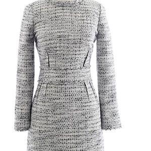 JCrew Long Sleeve Tweed Dress - Size 4